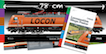 Booklet Megaposter Railcolor ES64F4 Locon 501
